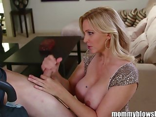 MommyBB Busty MILF Julia Ann is sucking my ti