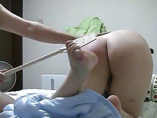 Paddling a Japanese MILF