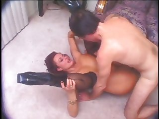 Hot Mature Cougar Banging in Boots
