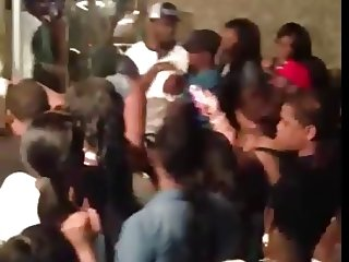 Black Stripper at Club 2