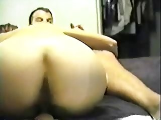 Nice Ass Hairy Brunette sits on Harvey Thumper's face