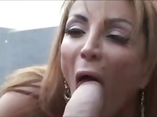 Hot Cougar Fucking From Car to Flat by TROC
