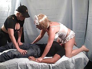 Nurse Handjob: Unruly Patient