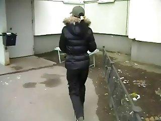 Sexy Russian Brunette Girl Ester Private Sex Tape