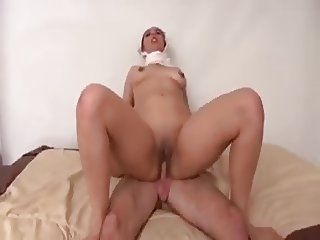 Pakistani Beauty Defiled by White Cock