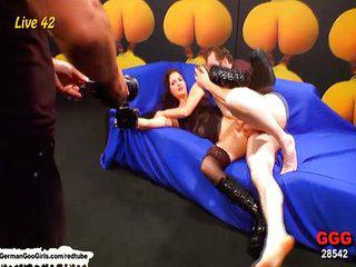Pretty brunette nympho gets fucked