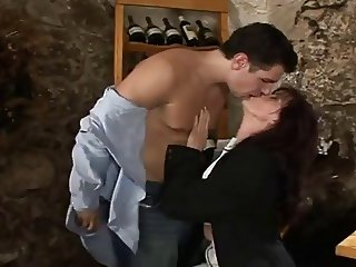 horny rich woman with awesome body fucks with her suitor