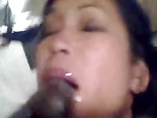 Asian Submissive Rims and blows Black