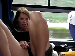 Masturbation on a Bus