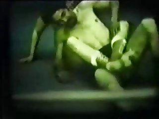 Vintage, Mixed Wrestling Beatdown