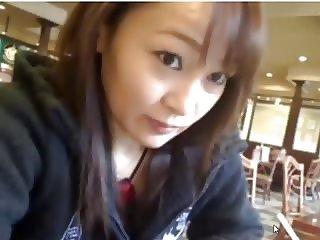 Amateur Asian Teen - Restaurant - lovely Mound