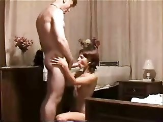 Bulgarian MILF suck first big cock
