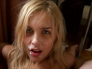 Blonde HJ BJ Facial POV xIJWHx
