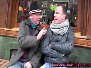 Real dutch hooker fucking