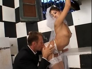 Kiss The Bride... On Her Asian Booty Hole