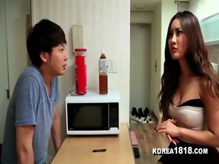 KOREA1818COM - Lucky Korean Virgin Gets to Fuck Hot Korean Babe