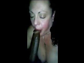 Cheating Housewife Sucks My Dick