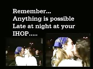 Make out at IHOP, America