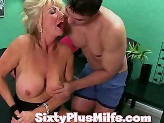 see this kinky horny granny