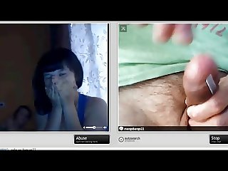 crazy man's penis piercing on chatroulette