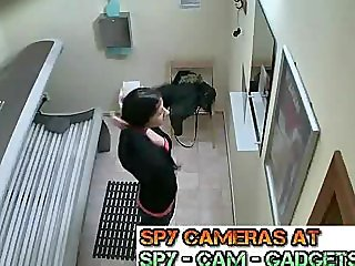 Public Solarium Masturb Spy Cam Hidden Camera