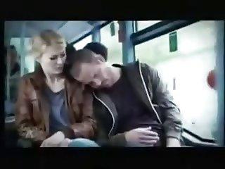 Horny Girl on bus
