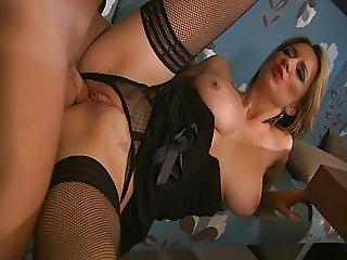 Busty cute babe anal Big tits