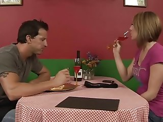 Charley Chase in a nice restaurant scene