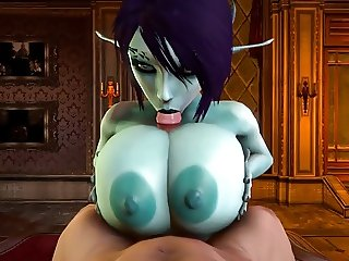 Soria dark elf 3D sex video