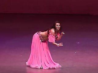 Alla Kushnir sexy Belly Dance part 106