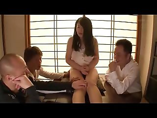 nice wife blackmailed and used by gang band