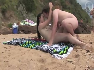 Foreplay on the beach