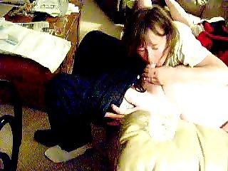 Mature MILF-Anne sucking cock on 073106