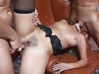 Fancy Anal Threesome