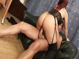 Mature very sexy in her office