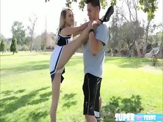 Cheerleader Carmen fucks her cheer partner84