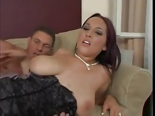 Big natural euro tits chick fuck!