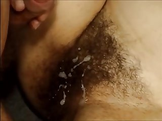 Cum On Hairy Pussy Compilation 4