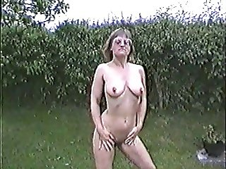 Naked in the garden 2