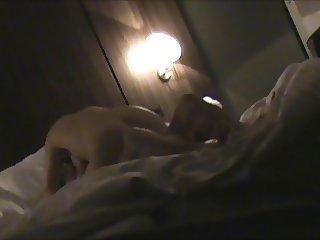 Hotelroomsex with MILF Ine hidden camera part 3