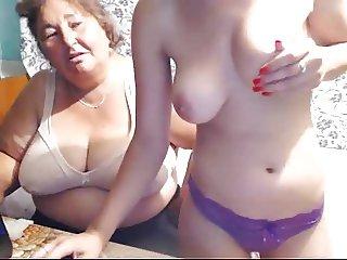Duo Aunt - Teen webcam show