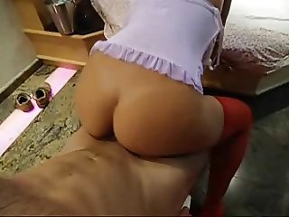 Brazilian husband taping his hotwife with a friend