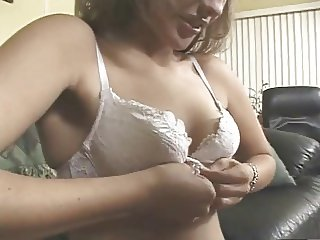 Amateur flat puffy tits