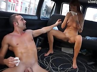 Glamour pussy surprise anal