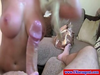 Sex audition euro blonde throatfucked