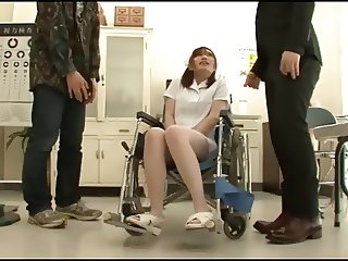 wheelchair nurse gets all she can handle