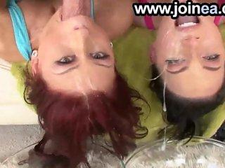 POV pornstars gagging