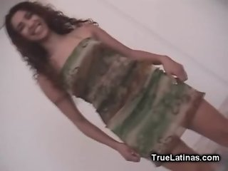White Cock Lover Latina Girl