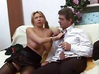 A big tit Italian girl
