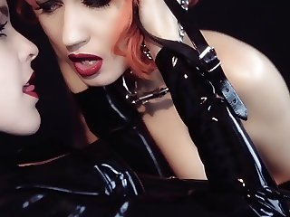PURE PLEASURE SEEKER - bdsm latex fetish music video